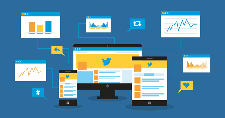 Confused by your Twitter analytics? Get clarity to maximize your marketing efforts! To learn how to use Twitter's Analytics Dashboard, see this infographic.