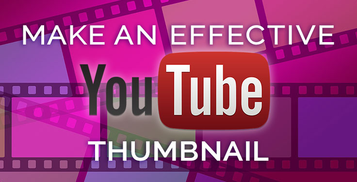 how to make YouTube Thumbnails banner