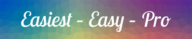 easiest, easy, pro design tools banner