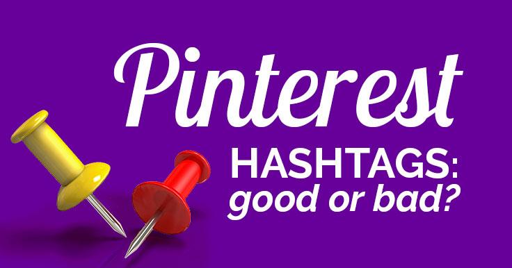Pinterest hashtags banner