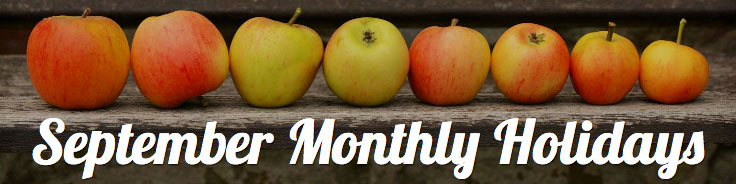 September Monthly Holidays