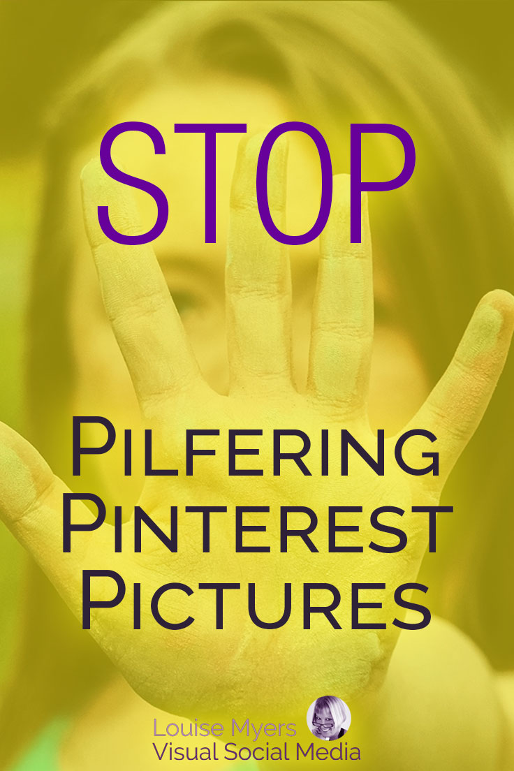 Perusing Pinterest pictures, to