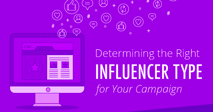 Considering influencer marketing? This infographic shows you how to make it work for your business! Learn the 3 types of influencers and choose the right one.