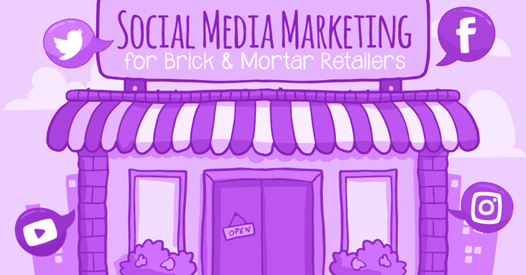 Does social media marketing work for local retail? If you have a brick-and-mortar store, check this infographic to optimize your social media presence.