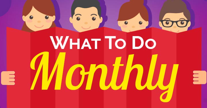 What to Do for Pinterest Marketing Monthly