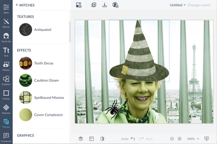 create a Halloween Profile Picture with PicMonkey