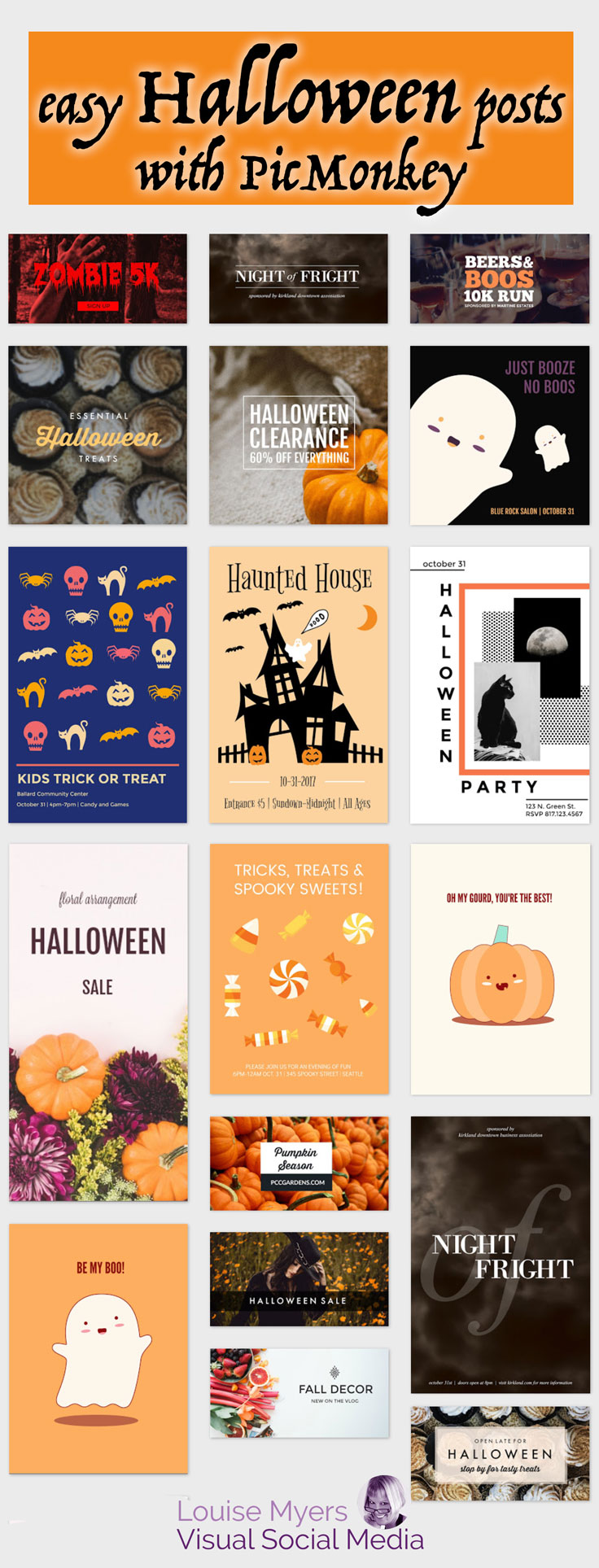 how to halloween your blog and profile pictures: fun & easy!