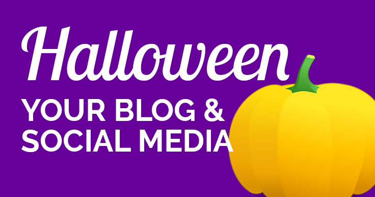 Halloween your blog and social media header