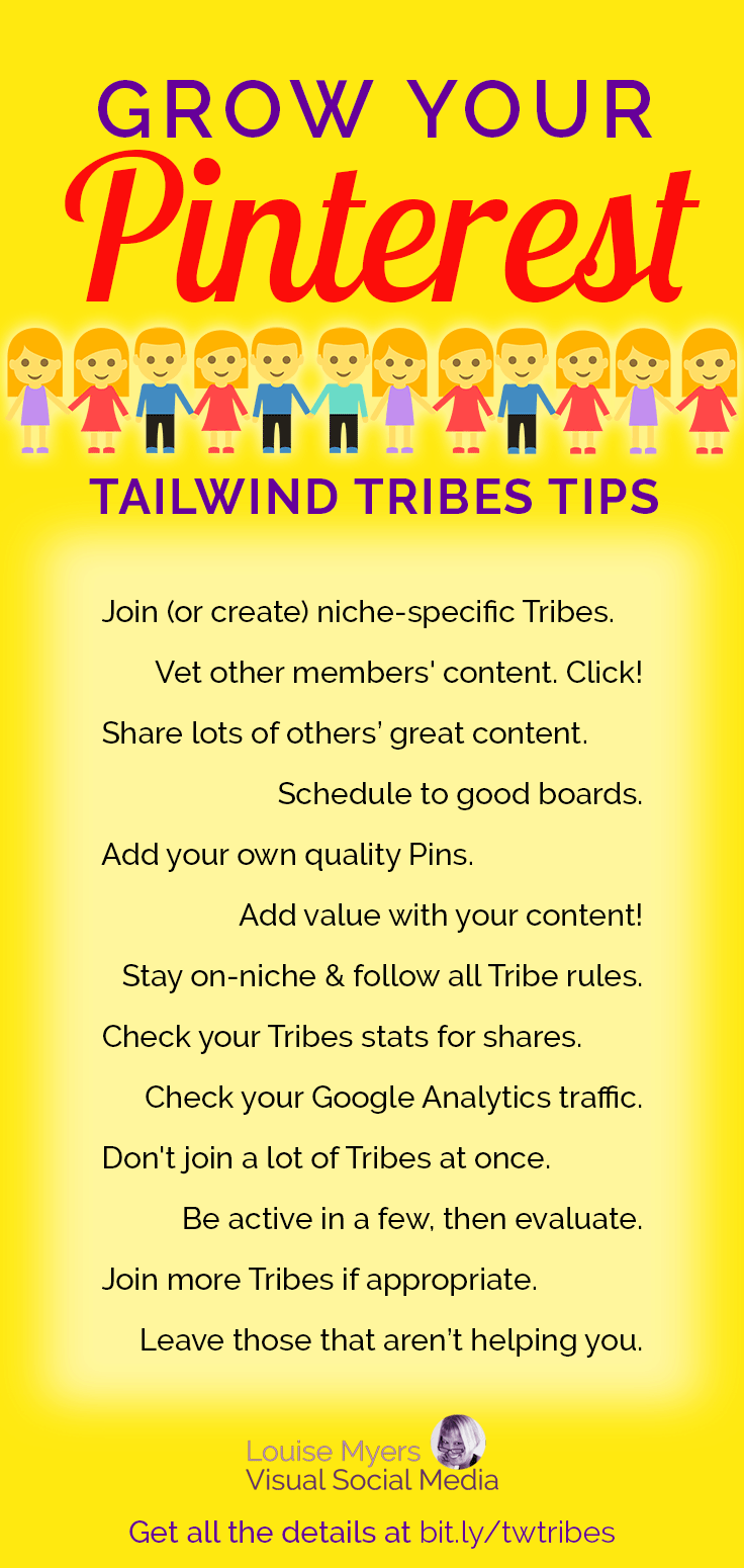 Want to grow your Pinterest reach? It's no secret: Pinterest group boards aren't doing much to help you now. Tailwind Tribes to the rescue! Here's how.