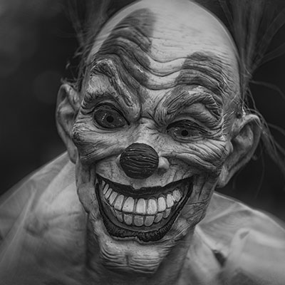 creepy clown Halloween Profile Picture