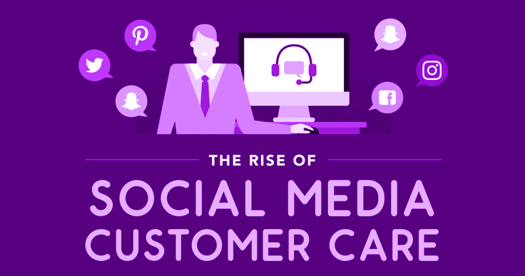 Using social media for customer service? Check out this infographic for handy tips to gain numerous benefits from using social media for customer care.