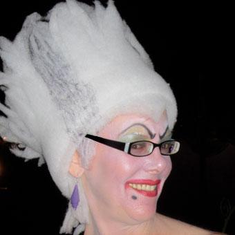 Halloween Profile Picture in costume
