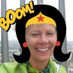superhero Halloween Profile Picture