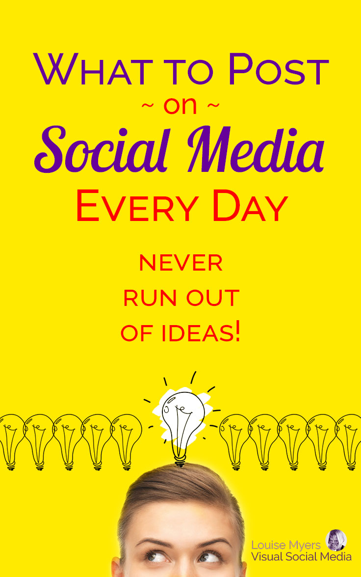 Wondering what to post on social media? You know you could be driving leads to your business if you just knew what to post! Here's how to get endless ideas.