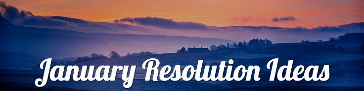 New Year's Resolutions:  Idea 1 is to tap into a resolution of your target market.