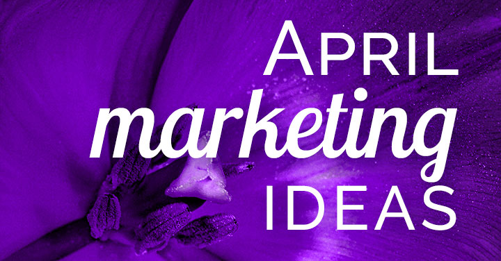 Need April marketing ideas? Download a FREE content inspiration calendar! Sprinkle in some fun when promoting your business to reap a shower of engagement.