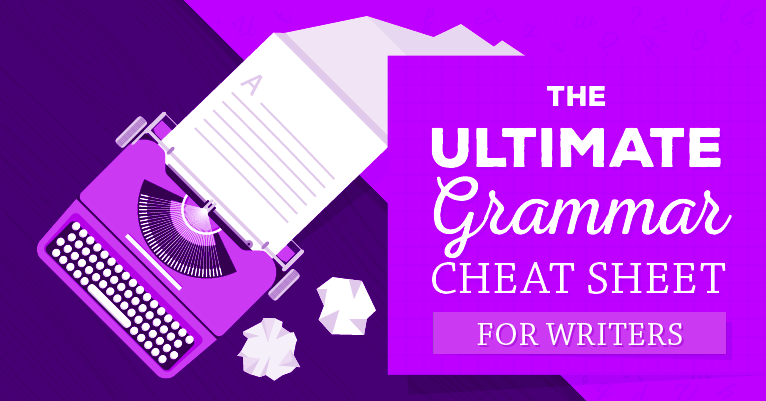 Need a good grammar cheat sheet? If grammar mistakes are chipping away at your credibility, here are dozens of helpful pointers to avoid grammar goofs.