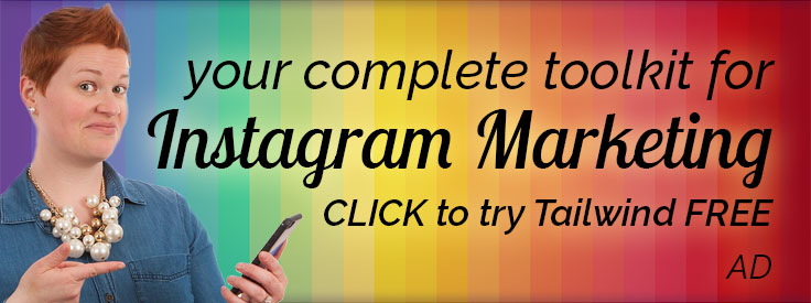 Try the complete Instagram marketing toolkit for bloggers and small businesses.