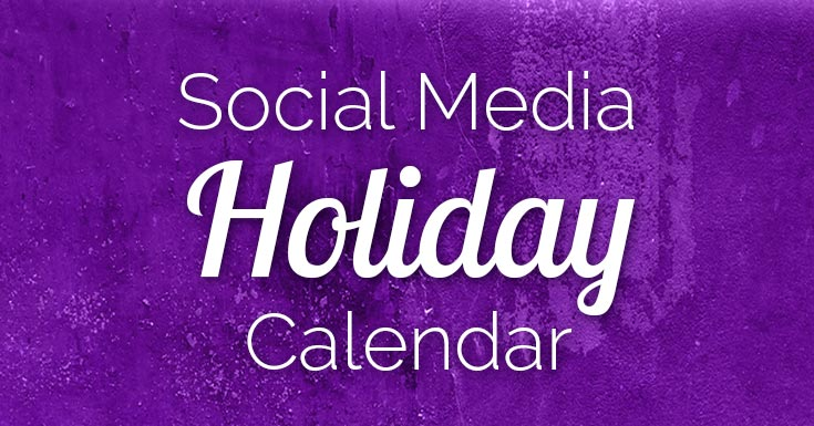Looking for social media holidays? They're essential for spicing up your content marketing. Find the best ones for 2018 on a shareable infographic.
