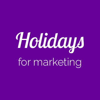 Fun holidays for social media marketing category banner