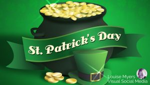Happy St. Patrick's Day graphic