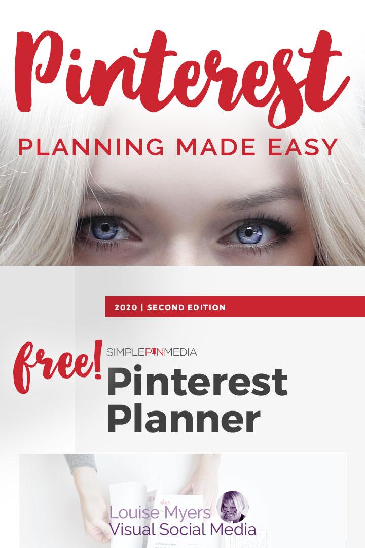pinterest planner pin image