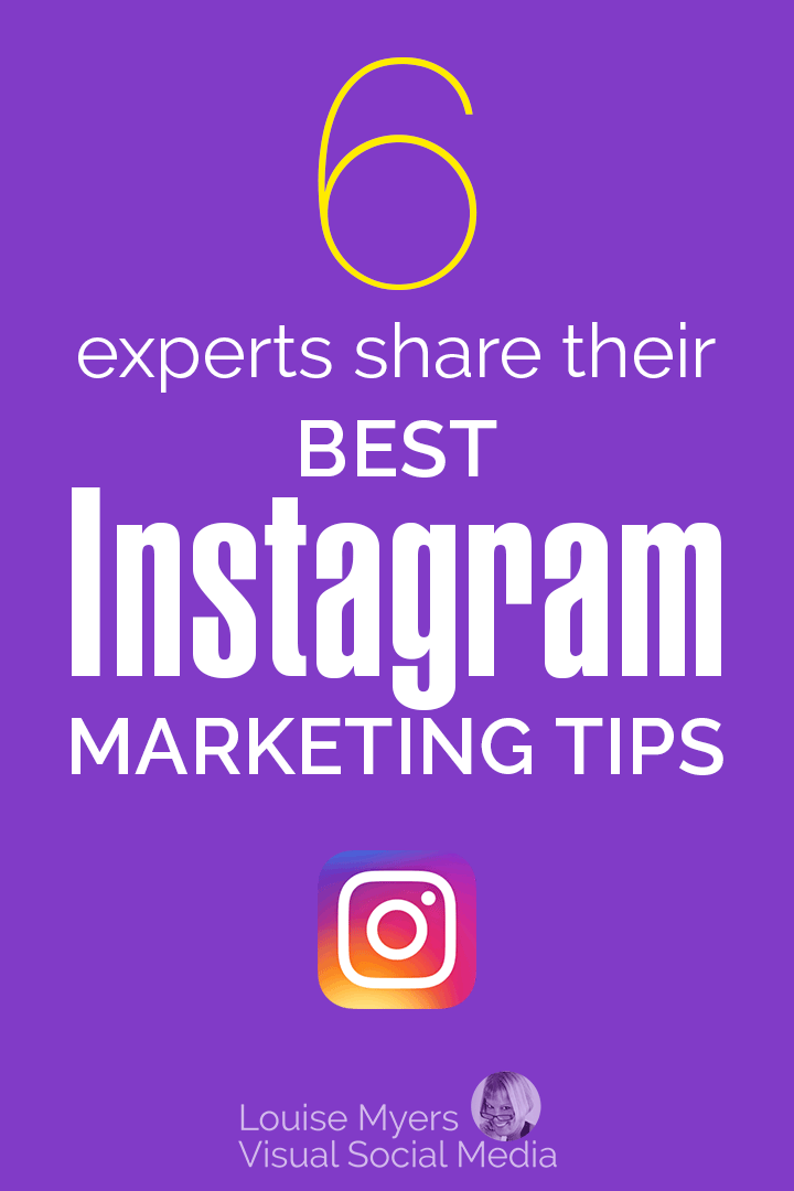 Instagram Marketing Tips pinnable graphic