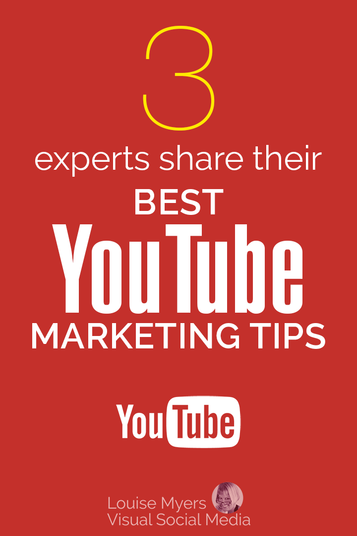 YouTube Marketing Tips pinnable graphic