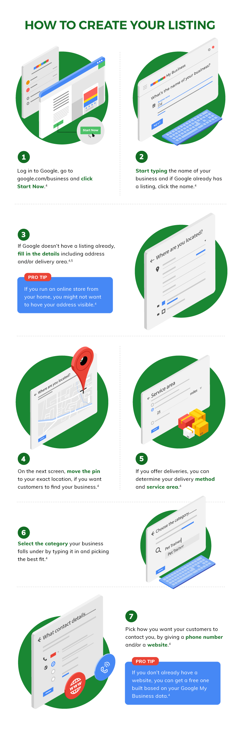 How to create your Google My Business listing