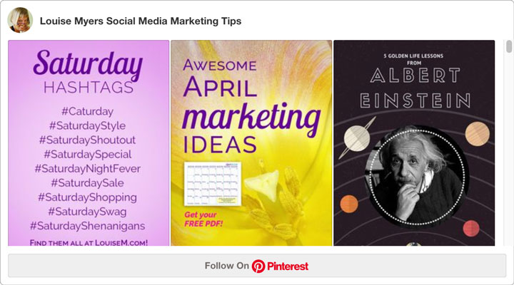embed Pinterest board widget