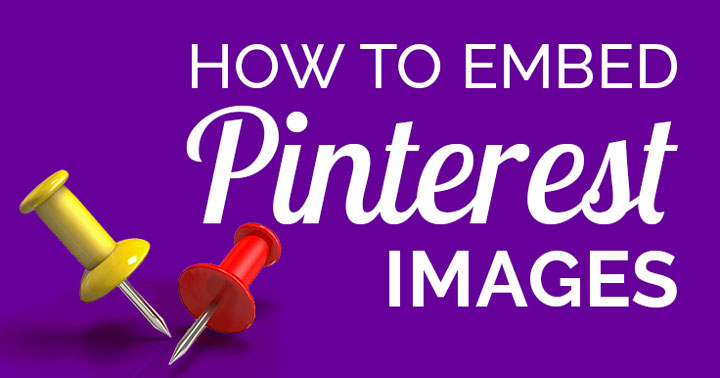 how to embed Pinterest Pins banner