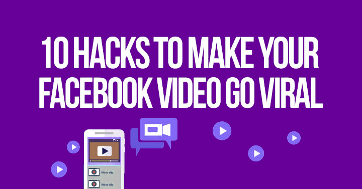 Want your Facebook video to go viral? These 10 hacks will boost your success in making Facebook video viral. Save the colorful infographic to revisit often!