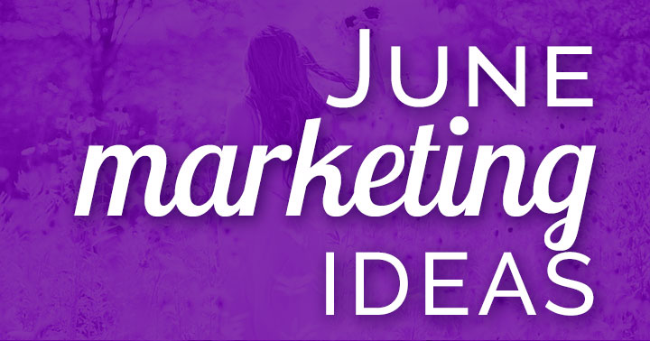 Need June marketing ideas? Download a FREE content inspiration calendar! Kick off summer and connect with your customers in a relaxed and more personal way.