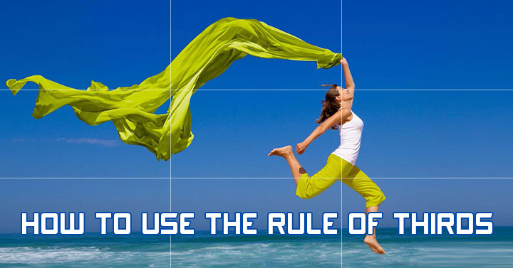 Rule of thirds example: It makes images more compelling by drawing attention to the most important points.