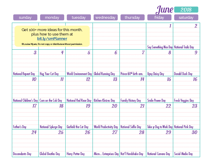 You can download the May inspiration calendar by right-clicking the image above.