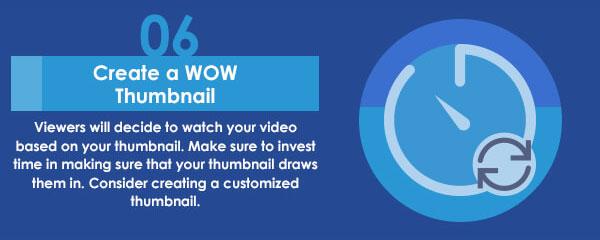 Create a Custom Video Thumbnail banner
