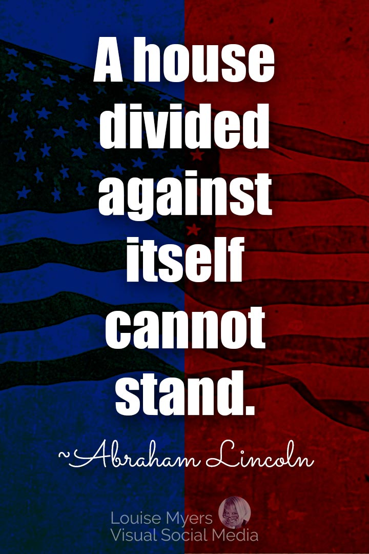 Abraham Lincoln divided house quote image