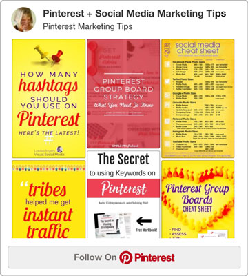 follow my Pinterest marketing tips