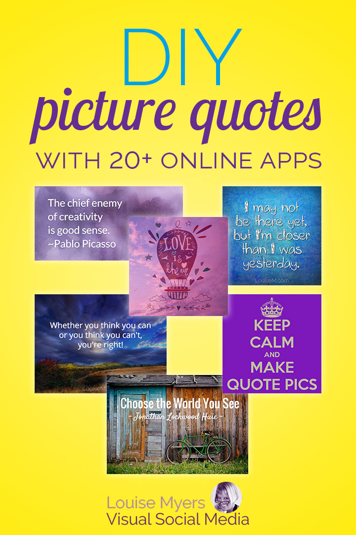 Want to make picture quotes, but not sure where to begin? Check out the best sites to make picture quotes online!