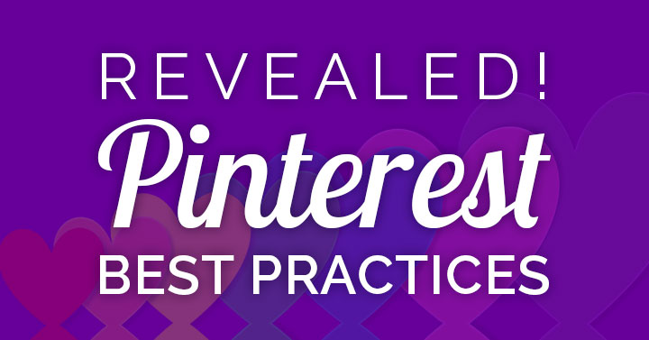 Pinterest marketing practices 2020 banner.