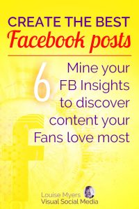 Facebook marketing tip: Mine your Facebook Insights to discover the content your Fans love most