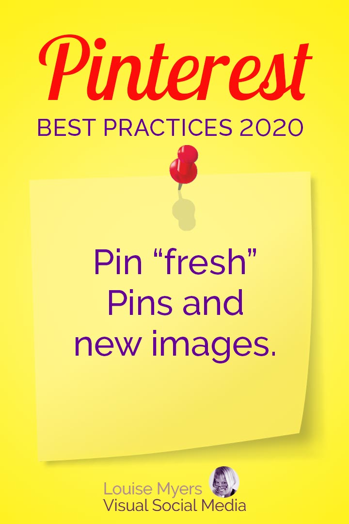 Pinterest favors fresh Pins