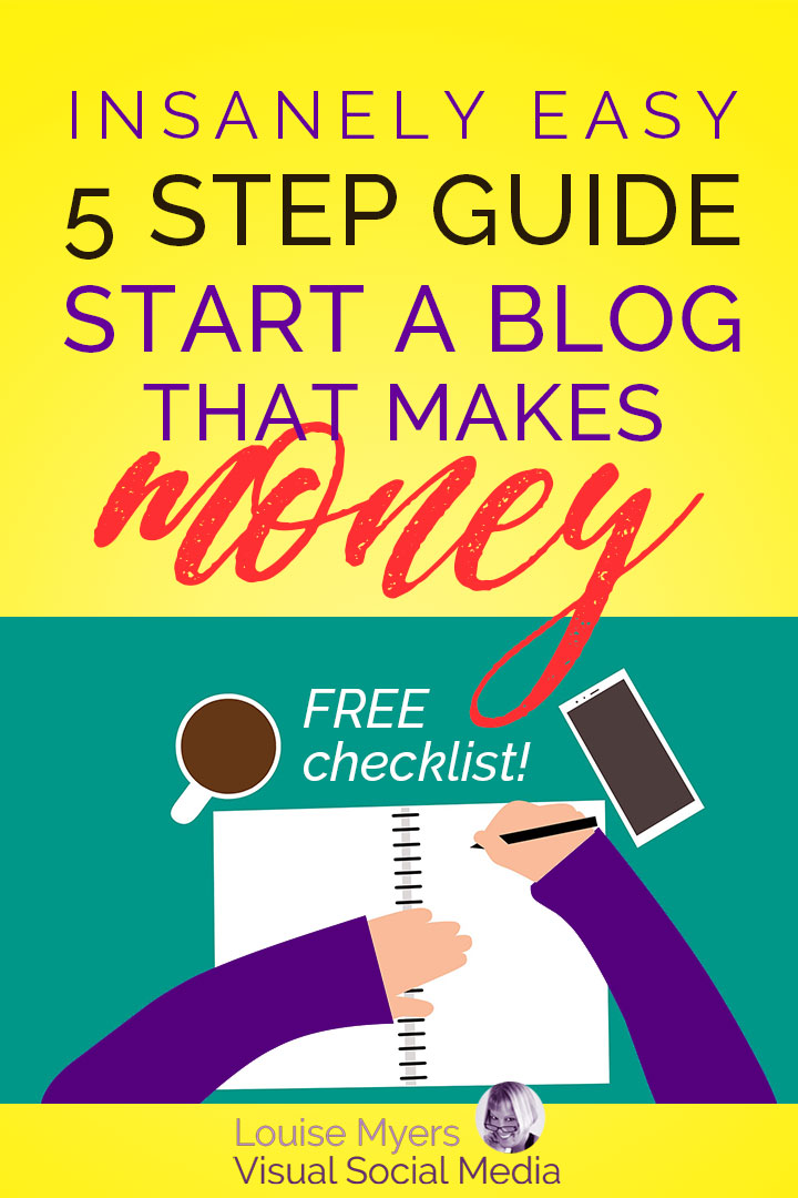 Wondering how to start a blog? Have you been thinking about blogging for a while, but haven't started yet? Here's the fast and easy way to start a blog!