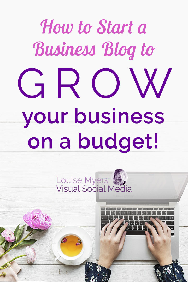 How to Start a Small Business Blog: Learn the blogging basics for businesses like yours, in this affordably priced video training. CLICK to buy, set your goals, and start growing your business!