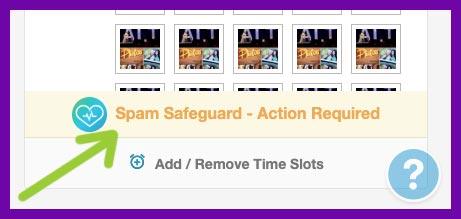 Tailwind SmartGuide spam alert