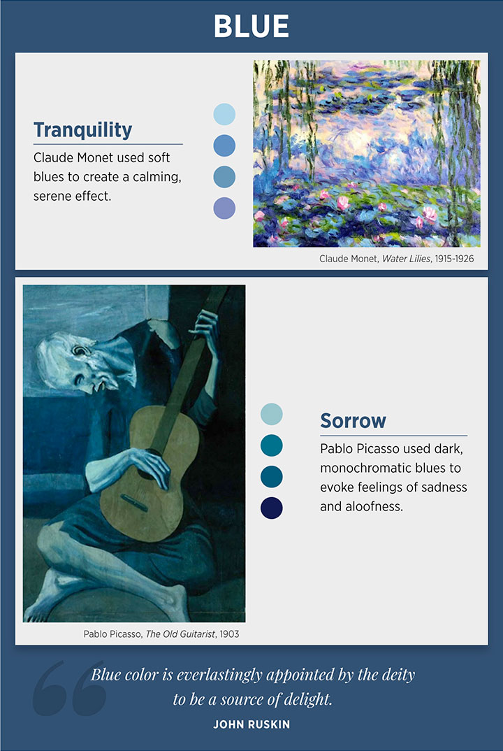 Blue color meaning and emotions