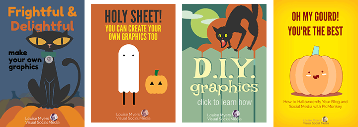 Need to make fast and fabulous Halloween graphics? You can't do better than PicMonkey!