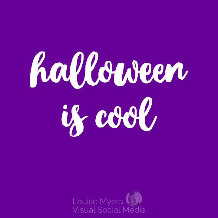 Halloween is cool quote Halloweentown