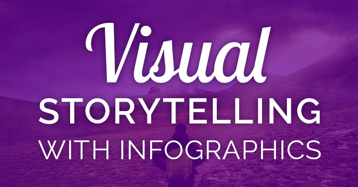 Want to use visual storytelling? The infographic was born to simplify this process!