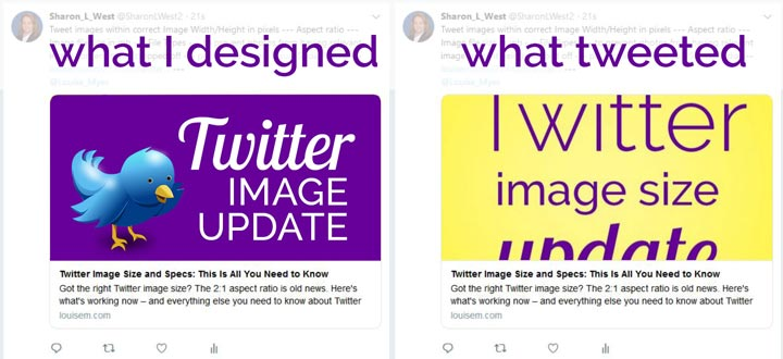 Twitter isn't pulling the right image as its Twitter Card